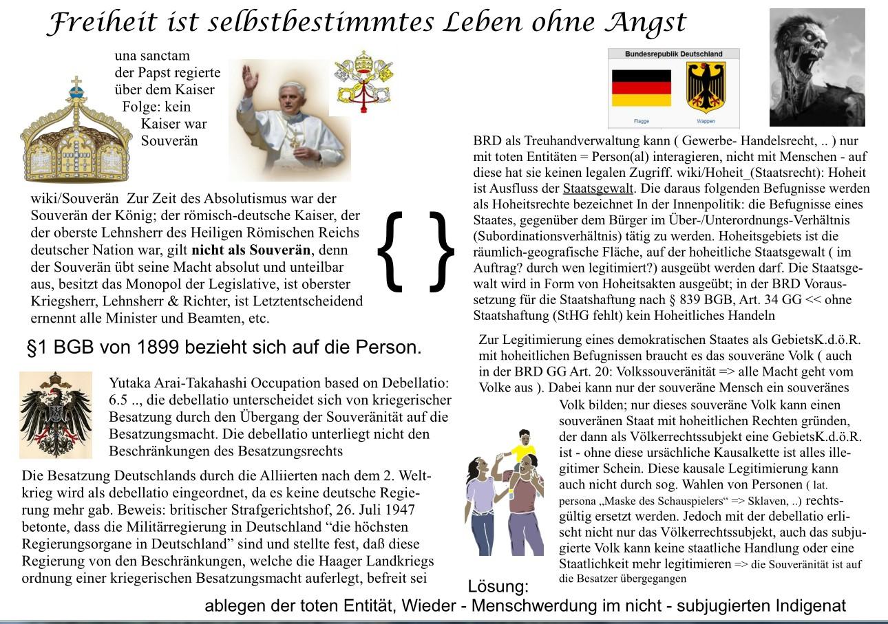 deutschland kein souveräner staat